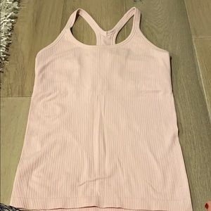 Lululemon workout tank top with bra